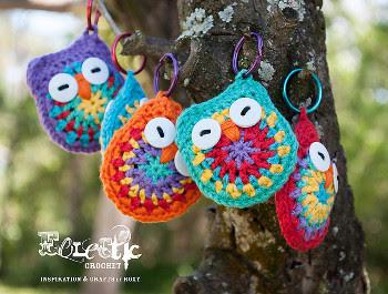 Amigurumi Pattern Free Owl : Free amigurumi patterns owl key chain pattern