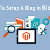 How to Set Up Blog