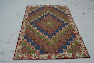 Одеяло для бабушки