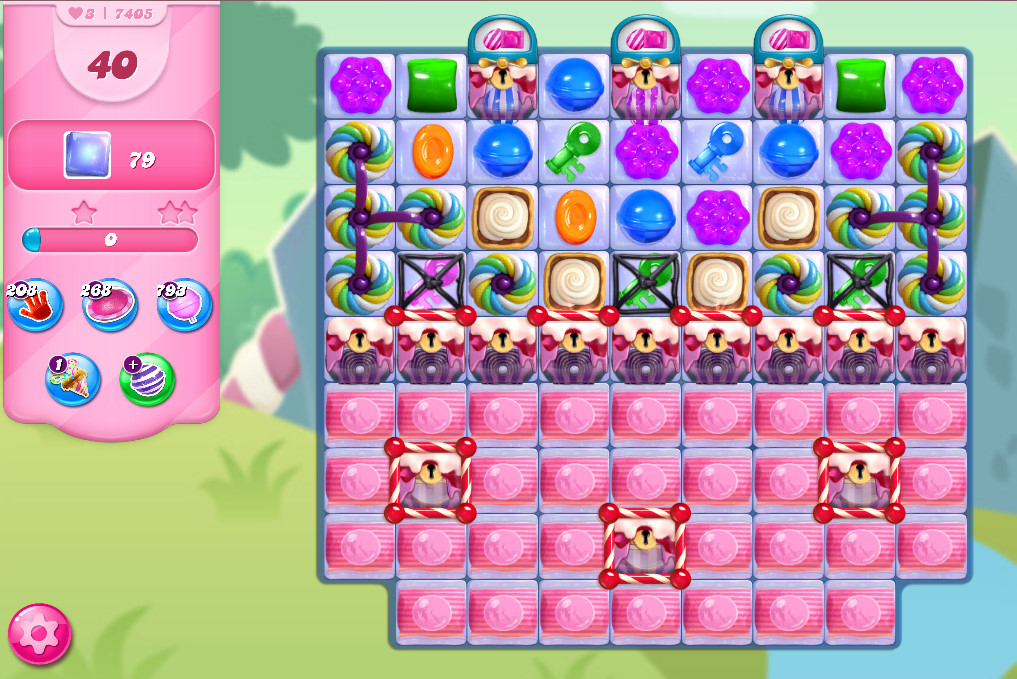 Candy Crush Saga level 7405