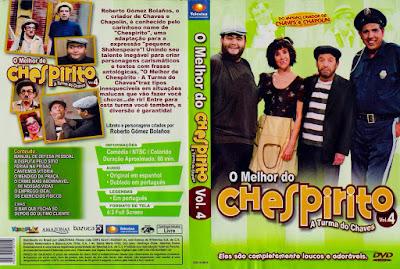 Série O Melhor do Chespirito Volume 4 DVD Capa