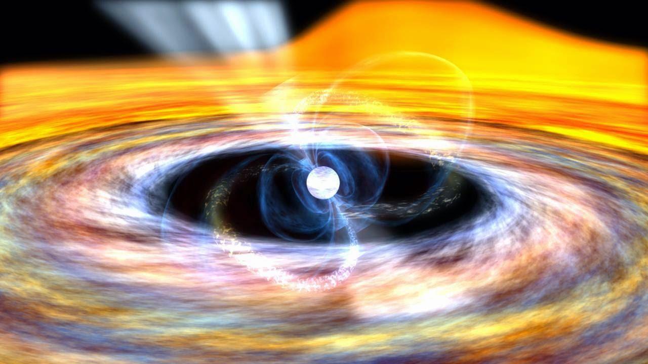 Resultado de imagen de Estrella de neutrones binaria