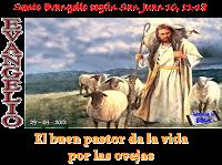 Resultado de imagen para EN aquel tiempo, dijo Jesús: «Yo soy el Buen Pastor. El buen pastor da su vida por las ovejas;