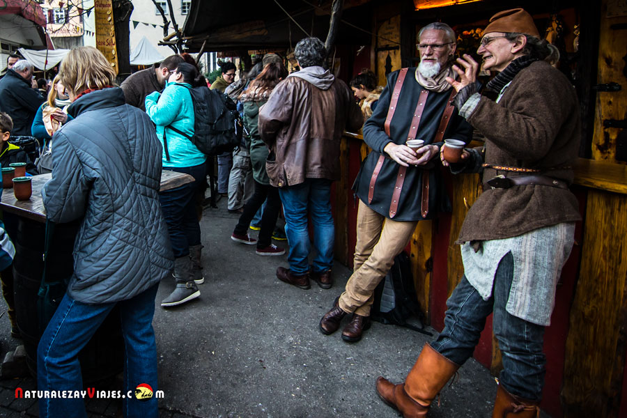Mercado de navidad de Esslingen am Neckar, Alemania