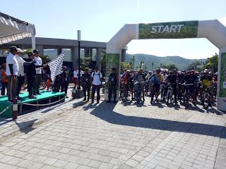 Kapolda NTB Lepas Ribuan Peserta Fun Bike HUT Korem  162/WB