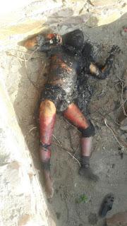 बुंदी ब्रेकिंग न्युज नेनवाँ रोड स्थित श्योपुरिया बावडी मे जलाया जिंदा आदमी