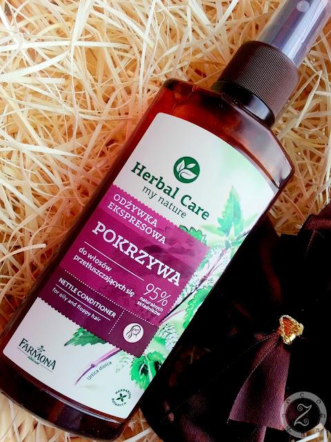 Odżywka ekspresowa z pokrzywą z serii Herbal Care od Farmony