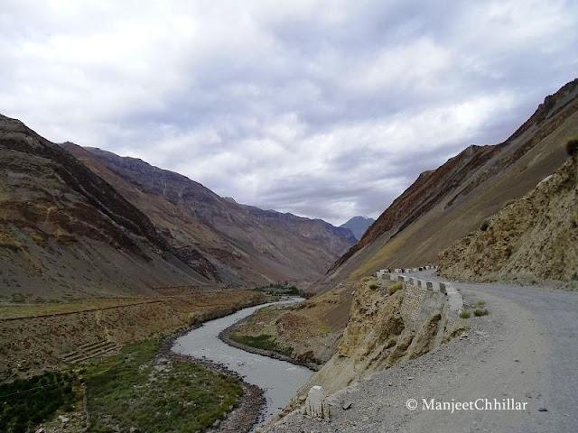 Kinnaur Kaza Road