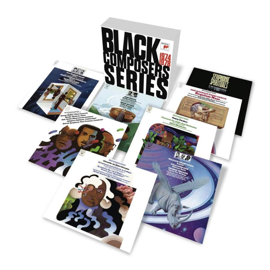 AfriClassical: Sony Classical Reissues Black Composer Series: The