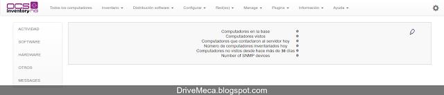 DriveMeca instalando paso a paso OCS Inventory NG en Linux Centos 7