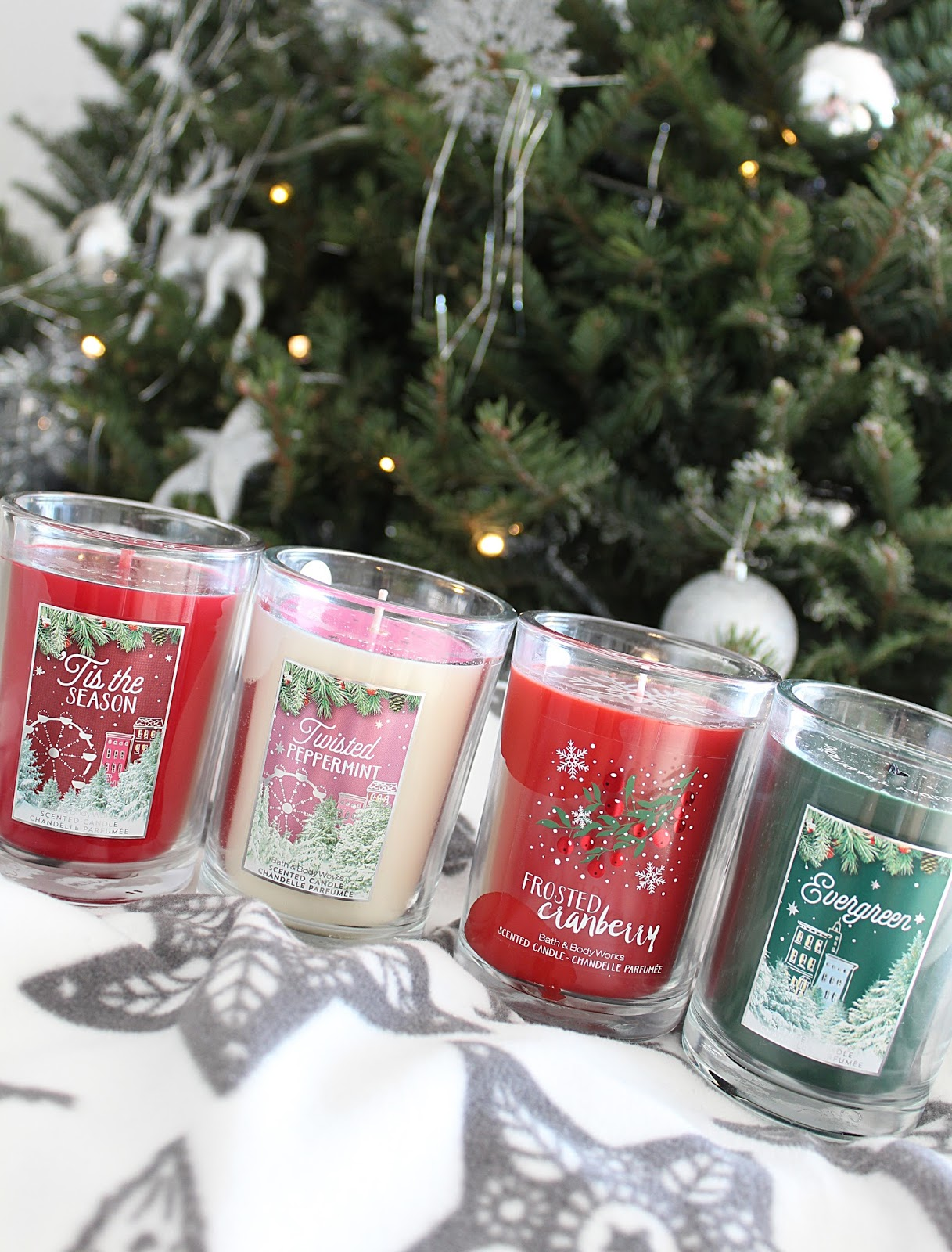 Bath & Body Works Christmas Candles Review 2016