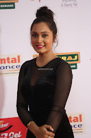 Vennela in Transparent Black Skin Tight Backless Stunning Dress at Mirchi Music Awards South 2017 ~  Exclusive Celebrities Galleries 052.JPG
