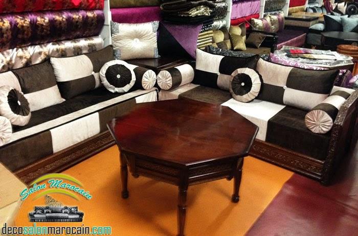 boutique salon marocain 2018 2019 tapissier marocain. Black Bedroom Furniture Sets. Home Design Ideas