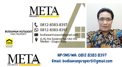 agen properti jual beli rumah ruko apartemen di medan sumatera utara