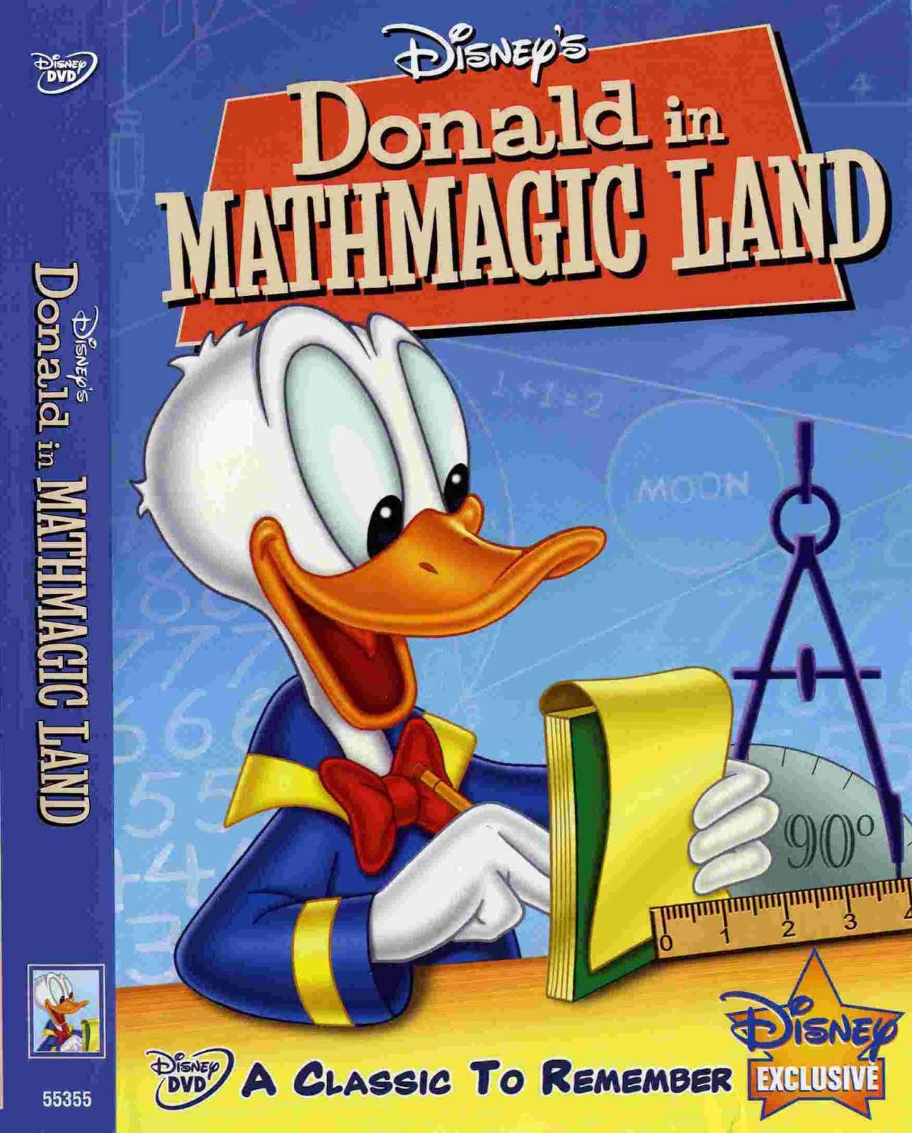 Baratta Infantil Donald No Pais Da Matemagica