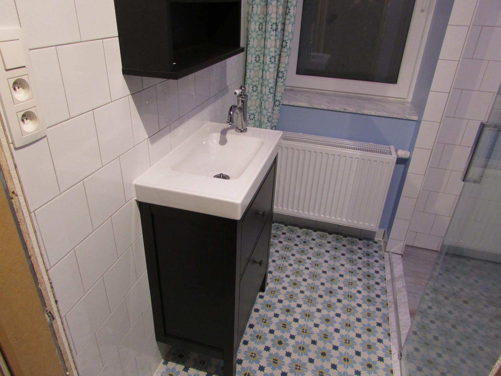 Verbouwing van ons ouderlijk huis: inrichting badkamer 2