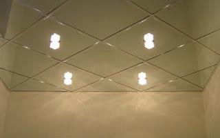 потолок из стекла на невидимых подвесах