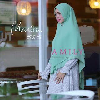 Hijab Amily Khimar Mahira Green Tea