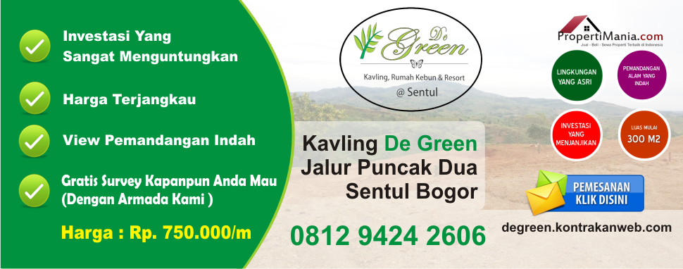 Kavling De Green