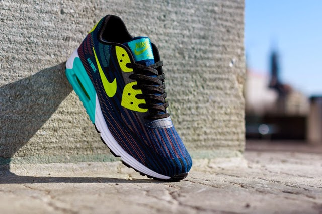 low priced 1c17e 08b51 NIKE AIR MAX LUNAR 90 JACQUARD (BRAVE BLUE)