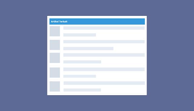 Cara Memasang Artikel Terkait di Blog