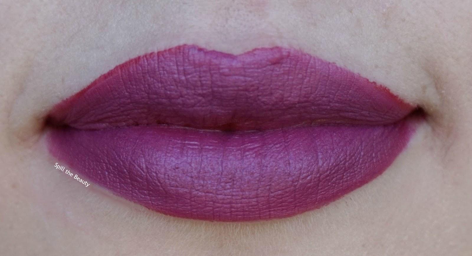 dior rouge ambitious matte + montaigne matte - lips