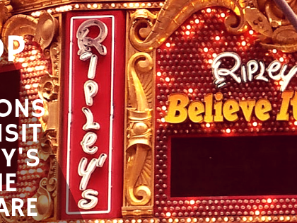 Top Five Reasons to Visit Ripley's Believe it or Not! Times Square