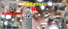 Gambar Perangkat dan IC Osilator RX
