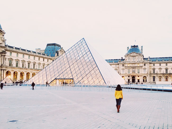 The Most Instagrammable Places in Paris - The Louvre