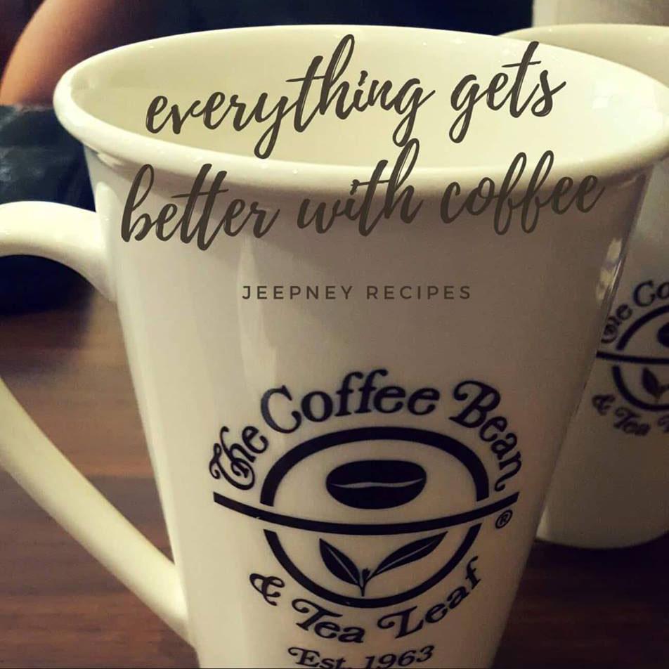 coffee bean & tea leaf by www.jeepneyrecipes.com
