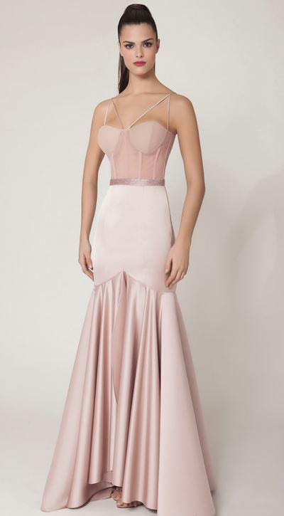 vestido de festa corsete ou corpete