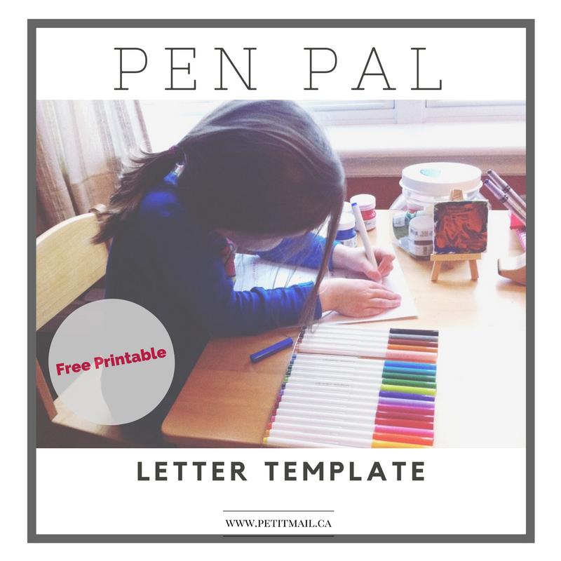Free Pen Pal Stationery