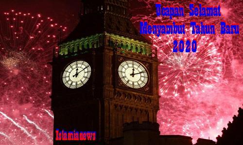 Kata Ucapan Doa Harapan Selamat Menyambut Tahun Baru 2020
