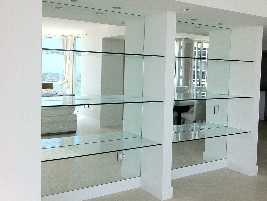 Treat Yourself to New Glass Shelves ~ NEW YORK GLASS COMPANY