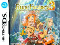 Save Data Rune Factory 3 A Fantasy Harvest Moon (Naruto) NDS