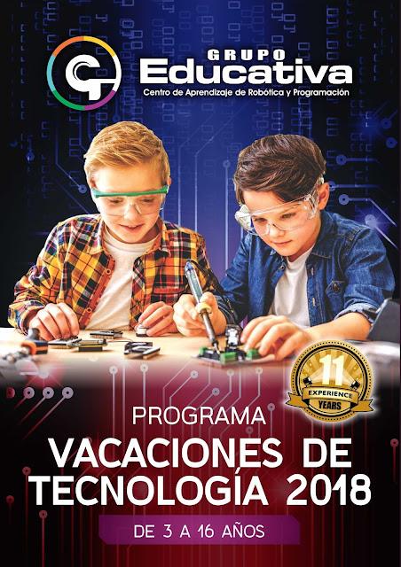 vacaciones-utiles-2018-divertidas-creativas-cursos-talleres-clases-verano-arequipa-robotica-grupoeducativa-arduino-electronica-programacion-codigo-fotografia-videojuegos2d-matematica-lego-creatividad-ninos-ninas