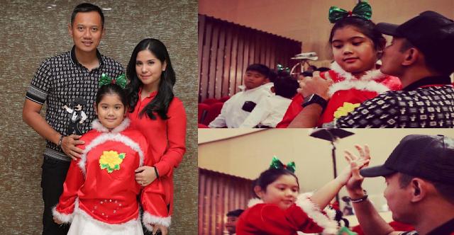 Anak AHY Pakai Kostum Natal, FPI Berani Negur Nggak?