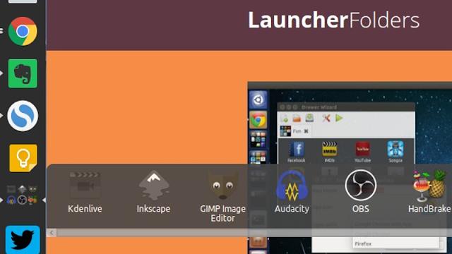 Launcher Folders