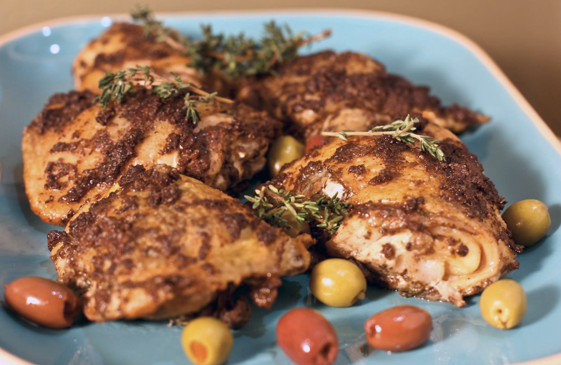 Fort Lauderdale Personal Chef - Baked Chicken Tapenade Recipe