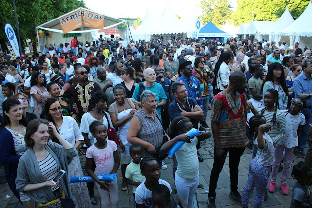 Africa Day 2017 at Wandsbek-Markt Hamburg, Germany [Photos]