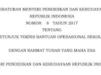 Unduh Juknis BOS 2018 Pdf SD SMP SMA SMK Terbaru