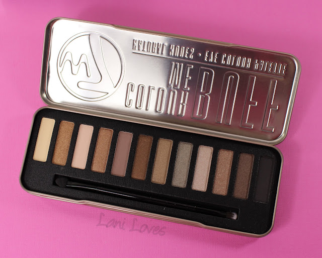 W7 Colour Me Buff Eyeshadow Palette Swatches & Review