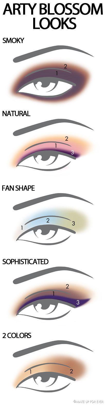 Wonderful Pastel Eyes Makeup Tutorials