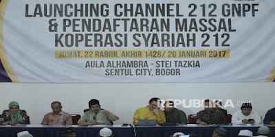 Ust Bachtiar Nasir Resmikan Koperasi Syariah dan Channel 212