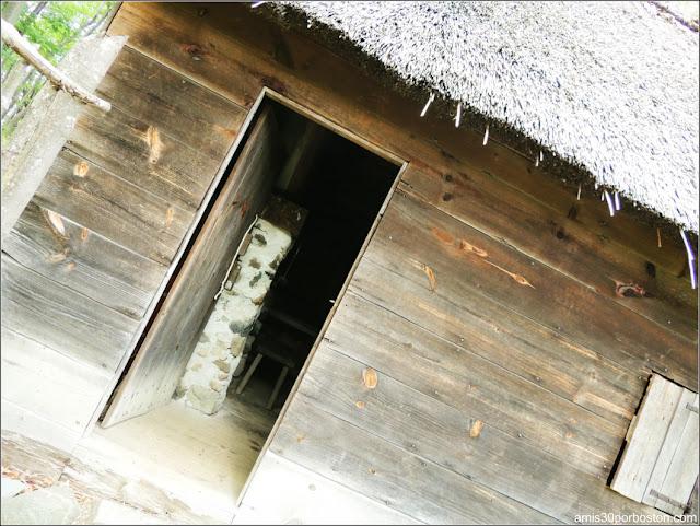 Casa del Herrero en la Pioneer Village en Salem, Massachusetts