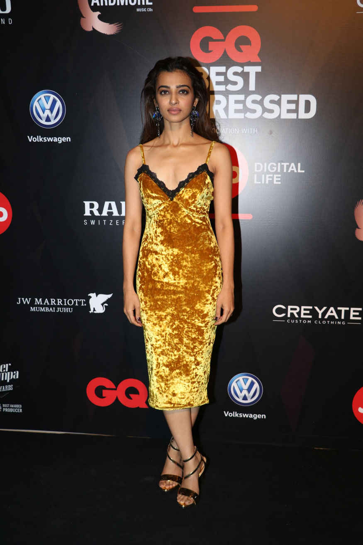 Radhika Apte Attends The GQ Best Dressed Awards Event In Mumbai
