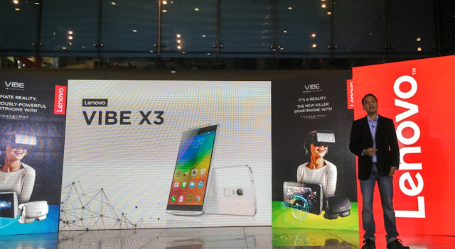 Lenovo Mobile VIBE X3 Unveils in the Philippines, Yours for Php22,099 with Free VR Headset