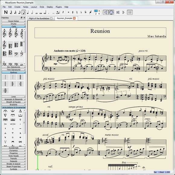 MuseScore-Aplicaie de notatie muzicala