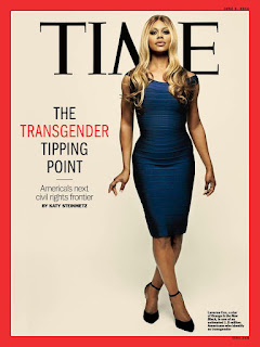 Time Magazine cover featuring Laverne Cox