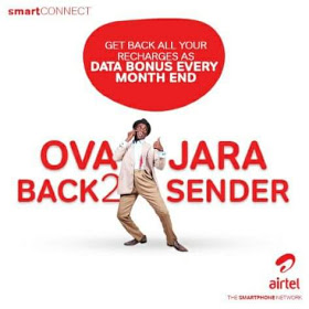 Enjoy the new Airtel  Ovajara 8x bonus on SmartConnect 4.0
